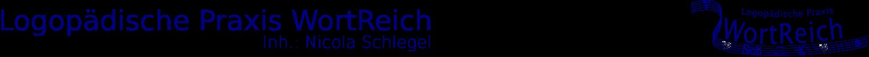 Logopädische Praxis WortReich Logo